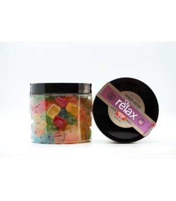Our best-selling Diamond CBD Relax Gummy Bears contain 1000mg