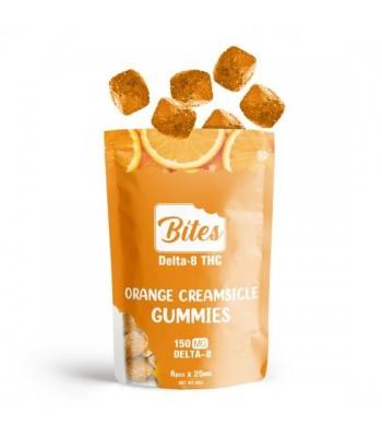 Orange Creamsicle flavored Delta-8 THC Bites