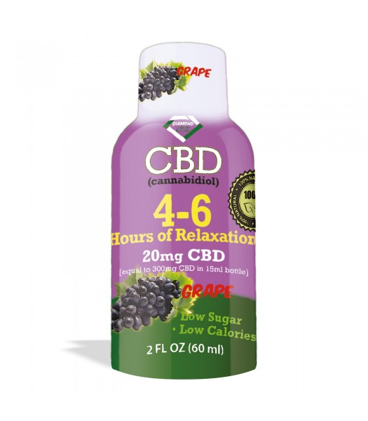 CBD Shots 20 mg Grapes