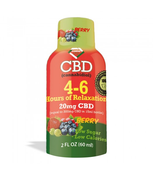 CBD Shots 20 mg Strawberry