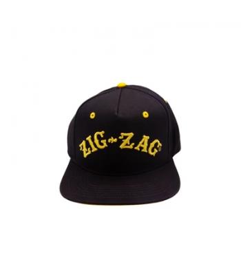 Zig-Zag Logo Hat - Black & Gold