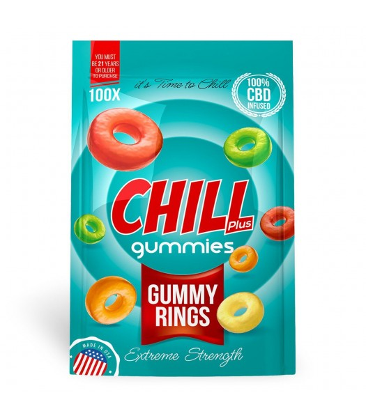 Chill Plus Gummies (Gummy Rings)