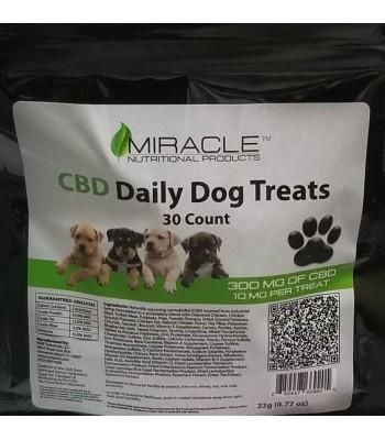 Miracle CBD Daily Dog Treats 30 ct 10 mg/each