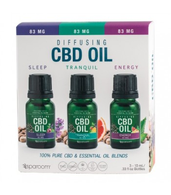 CBD Oil 3-Pack  Sleep - Tranquil -Energy