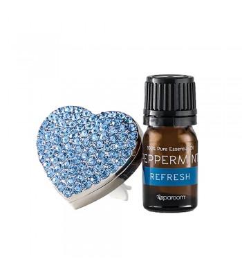 BlingAir Car Diffuser Blue + Essential Oil