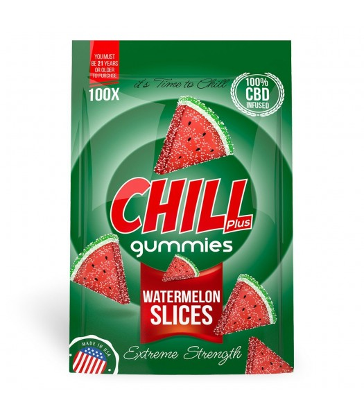 Chill Plus Gummies (Watermelon Slices)